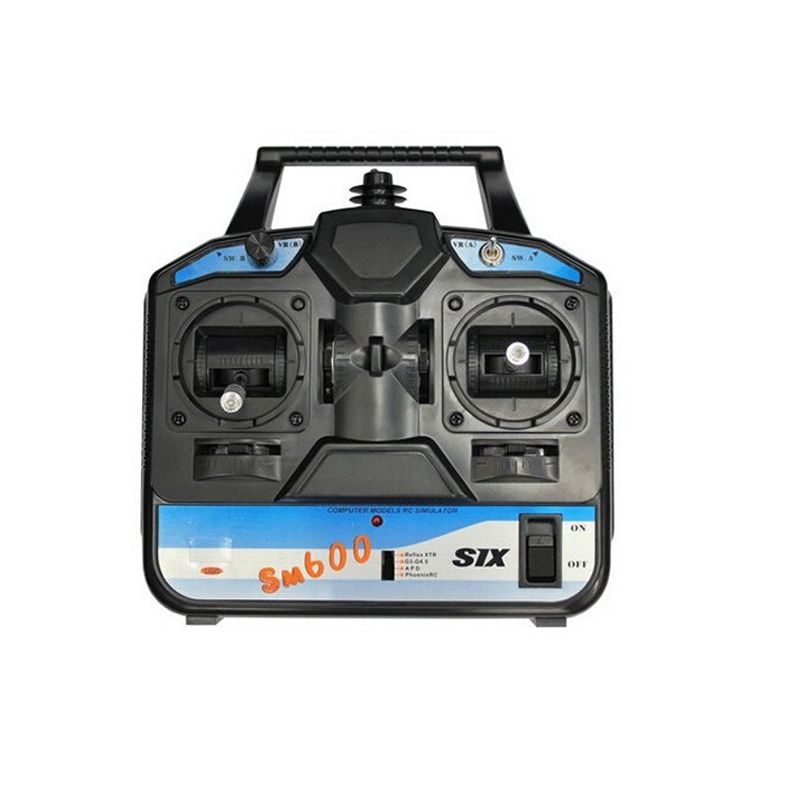 flysky rc simulator fs sm600 6ch usb simulator suporte g6 g7 xtr fms para helicoptero 3d