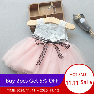 Baby Girl Dress 2020 Summer Cute Sleeveless Princess Dress for Girl Kids Party Dresses for Baby Newborn Dress 6M 12M 2T