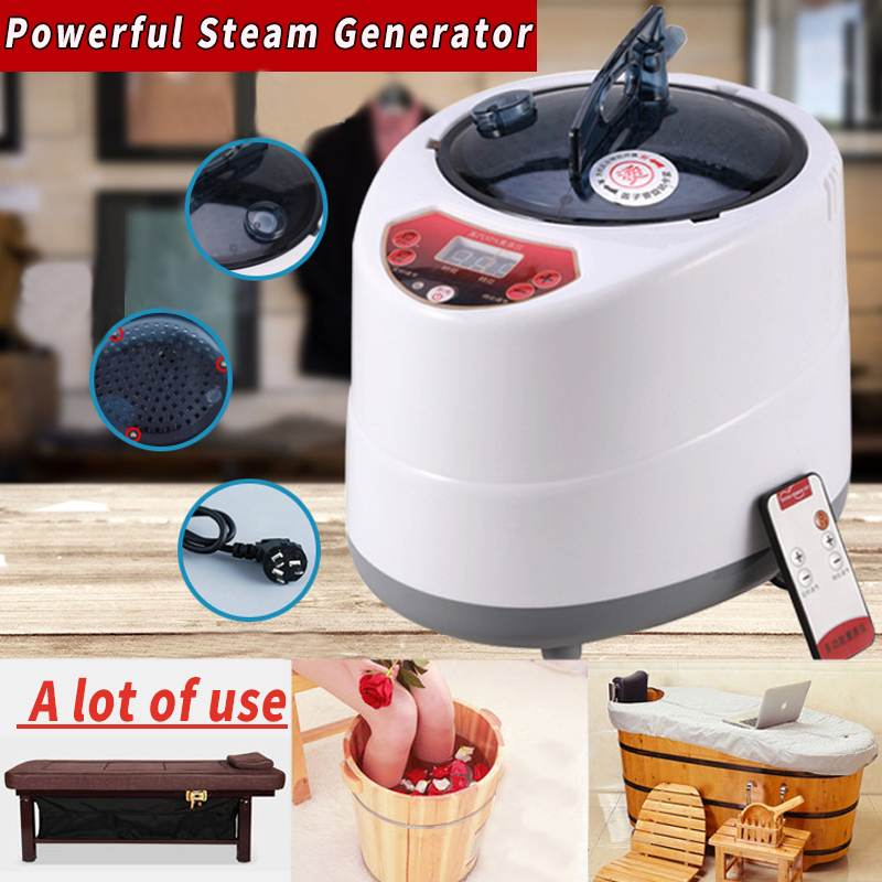 2.0/2.5L Sauna Generator For Sauna Spa Tent Body Therapy Fumigation Machine Home Steamer Therapy Suitable For Kitchen