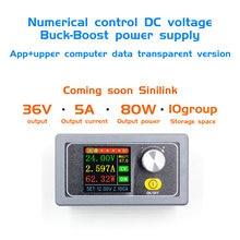 XYS3580 DC Buck Boost Converter CC CV 0,6 36V 5A módulo de potencia ajustable regulada fuente de alimentación de laboratorio variable