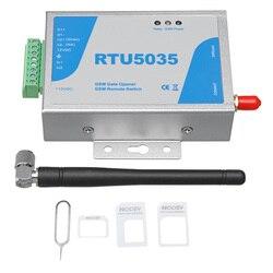 Przełącznik przekaźnika otwierania bramy GSM RTU5035 Operator przesuwny zdalny dostęp sterowanie telefonem otwieranie drzwi bezprzewodowy otwieracz w Elektryczne systemy sterowania drzwiami od Bezpieczeństwo i ochrona na