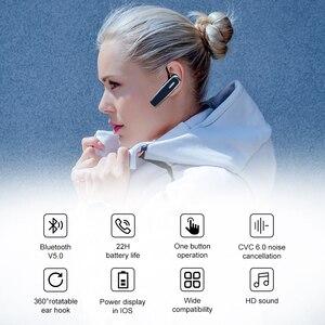 Image 2 - Yeni arı B30 Bluetooth kulaklık 22Hrs konuşan kablosuz kulaklıklar gürültü iptal Mic ile Handsfree kulaklık kulaklık için telefon