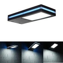Blu-ray Regula Solar Wall Lamp LED Self-motion Motion Sensor Lamp Outdoor IP65 Waterproof Solar Garden Emergency Security Light