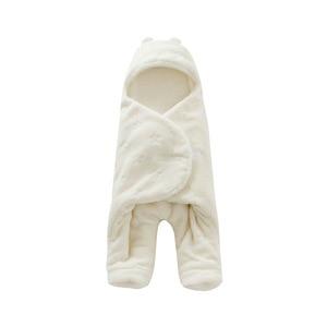 Image 3 - Túi Ngủ cho bé 68*80cm Nỉ mặc Túi Ngủ Cho Bé Mùa Đông Footmuff Saco Bebe Cochecito Dormir Sắc De couchage Enfant