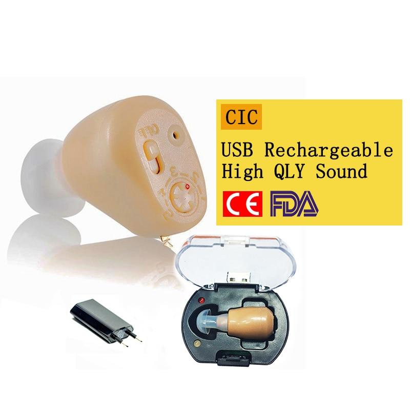 Uppladdningsbara mini-hörapparater hörförstärkare ZD-900D hörljudförstärkare hörapparater laddningsbart hörapparat