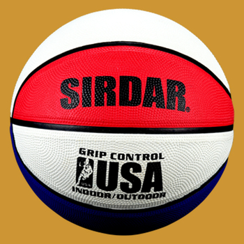 SIRDAR Basketball Rubber High Quality size 7 Training Ball Training Equipment Accessories Basketball Outdoor Indoor for adults image