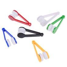 5 unid/set limpiador de gafas cepillos de microfibra cepillo de limpieza Mini gafas de sol limpiador de gafas cepillo de limpieza herramienta para gafas