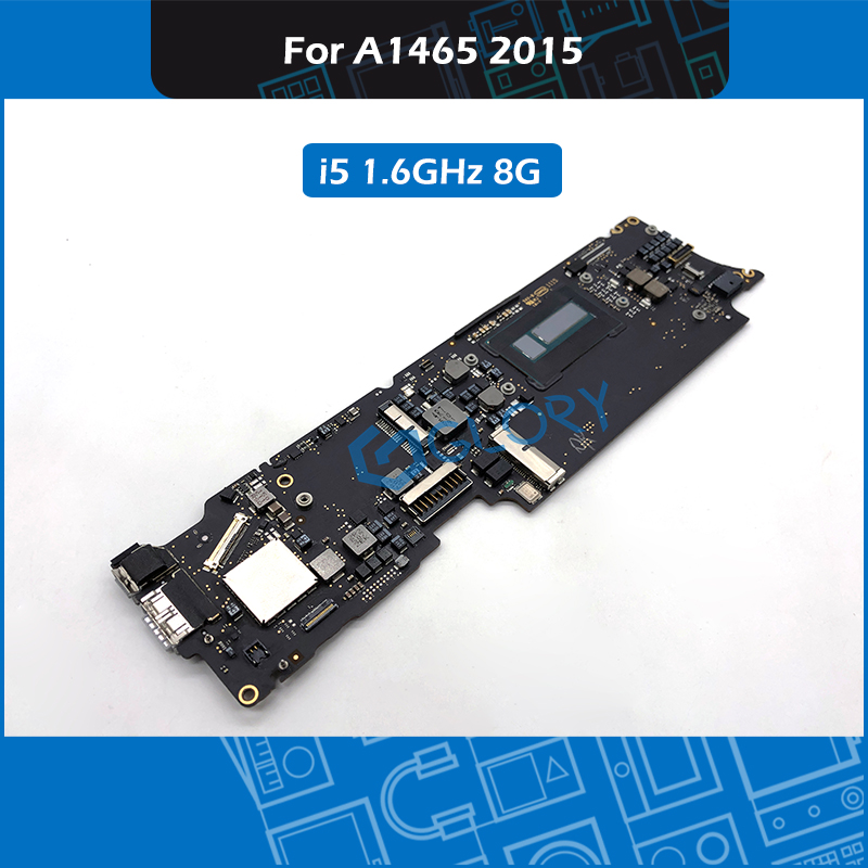 Genuine <font><b>A1465</b></font> <font><b>Motherboard</b></font> i5 1.6GHz 8GB 820-00164-A For Macbook Air 11