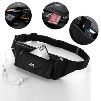 Running Belts Waist Pack Water Resistant Fanny Pack Pouch Bag for Xiaomi Mi Redmi Note 9S 9 Pro Max 10 Lite Case Cover Funda