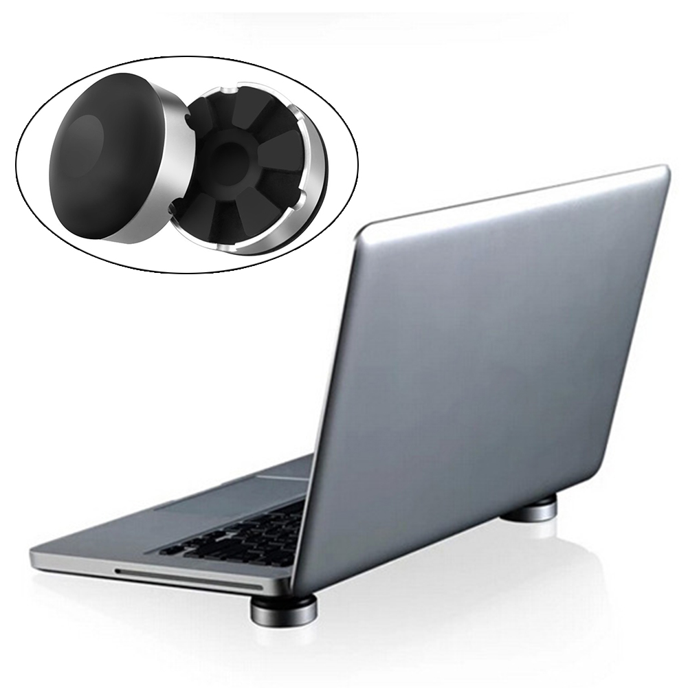 2 Pcs New Portable Laptop Notebook Cooling Ball Cooler Stand with Skidproof Pad