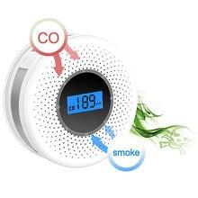 Комбинированный Детектор дыма и монооксида углерода с дисплеем