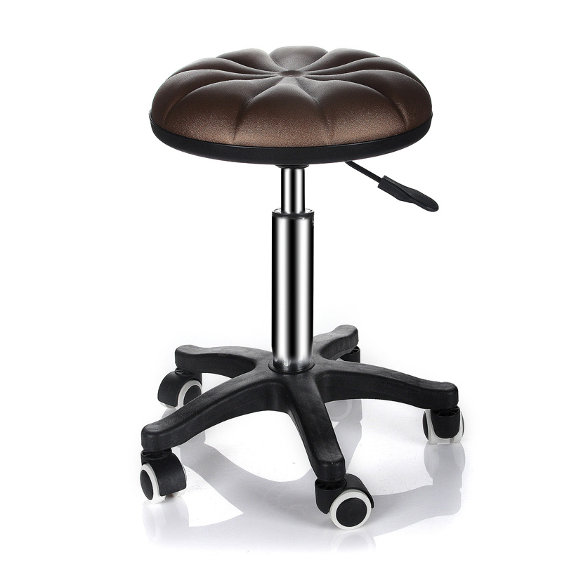Beautiful Neighbor Station Beauty Salon Stool Chair Beauty Bed Stool Hairdressing Barber Stool Explosion-proof Round Work