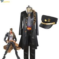 Anime JoJo's Bizarre Adventure Jotaro Kujo Cosplay Costume Halloween Costume Custom Made