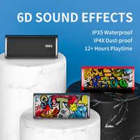 Altavoz Bluetooth portátil Mifa A10 Altavoz inalámbrico Altavoz sonido estéreo sistema de sonido envolvente a prueba de agua Altavoz exterior