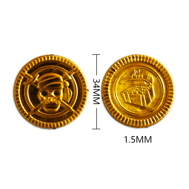 1 6 Scale Pirate Treasure Chest Scene Accessories Jewelry Box Gold Coins Scape Sculpt Models for 12 quot Doll Body Figures Toy gifts in Dolls from Toys amp Hobbies