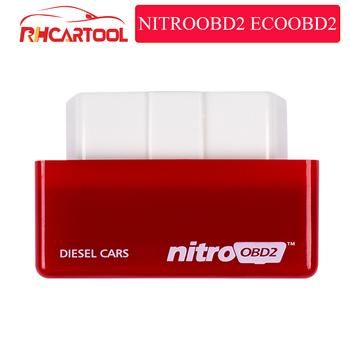 OBD2 Car Nitro Performance skrzynka do tuningu elektronicznego NitroOBD2 interfejs OBD wtyczka i napęd większa moc większy moment obrotowy działa w samochodach z silnikami wysokoprężnymi tanie i dobre opinie CN (pochodzenie) --latest english Czytniki kodów i skanowania narzędzia 1 year Superior Standard Excellent strong and stable
