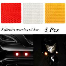 5 шт квадратные отражательные наклейки для автомобилей Декоративные