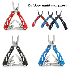 Multifunctional Folding Plier Multitool Pocket Tools Plier Screwdriver Bits Outdoor Survival Combination Multi Camping Knife outdoor multifunction knife pliers multitool multifunctional tool combination pliers multitool survival multifunctional plier
