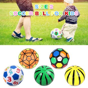 Rozmiar 2 dzieci piłka do piłki nożnej nadmuchiwany trening piłkarski piłka dla dzieci gry piłki treningowe prezent dla dzieci studentów tanie i dobre opinie CN (pochodzenie) Other