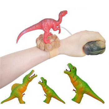 Mini Cute Dinosaur Outdoor Wrist Water Pistol Kids Summer Beach Fight Game Toy