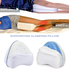 Memory Foam Knee Wedge Leg Pillow For Sleeping Orthopedic Sciatica Back Hip Joint Pain Relief Thigh Pad Support Cushion
