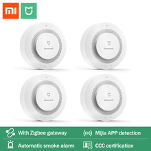 Mijia Honeywell Feuer Alarm Rauch Sensor Gas Detektor Arbeit Mit Multifunktions Gateway 2 Smart Home Sicherheit APP Control