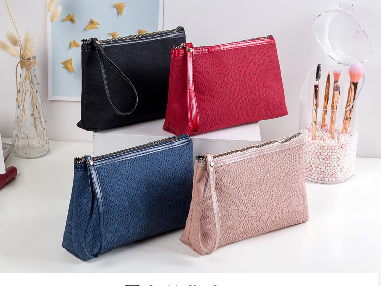 2020 New PU Leather Travel Makeup  Makeup Bag Women Pouch Fashion Portable  Lady Makeup Travel Organizer Bag Cosmetic Bag