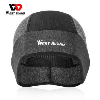 WEST BIKING Sport Skull Caps Anti-UV Cycling Helmet Hat Running Riding Hiking Ski MTB Bike Bandana Headband Motorcycle Headwear