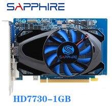 Видеокарта SAPPHIRE HD7730 1 ГБ для AMD, GPU Radeon HD 7730 GDDR5 бит, графические карты для ПК, компьютерных игр, видеокарт HDMI