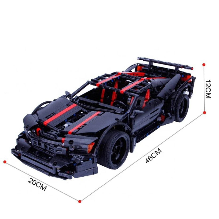 Купить с кэшбэком Xingbao 07003 TECHNIC Future Car Series 1814pcs Creative Genuine Future Racing Car Building Blocks MOC Bricks Home Decoration