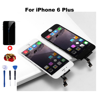 цена на Grade AAA+++LCD Display Touch Screen For iphone 6 screen  6S 6Plus 7 8 Replacement No Dead Pixel Display Assembly  iphone 6 lcd