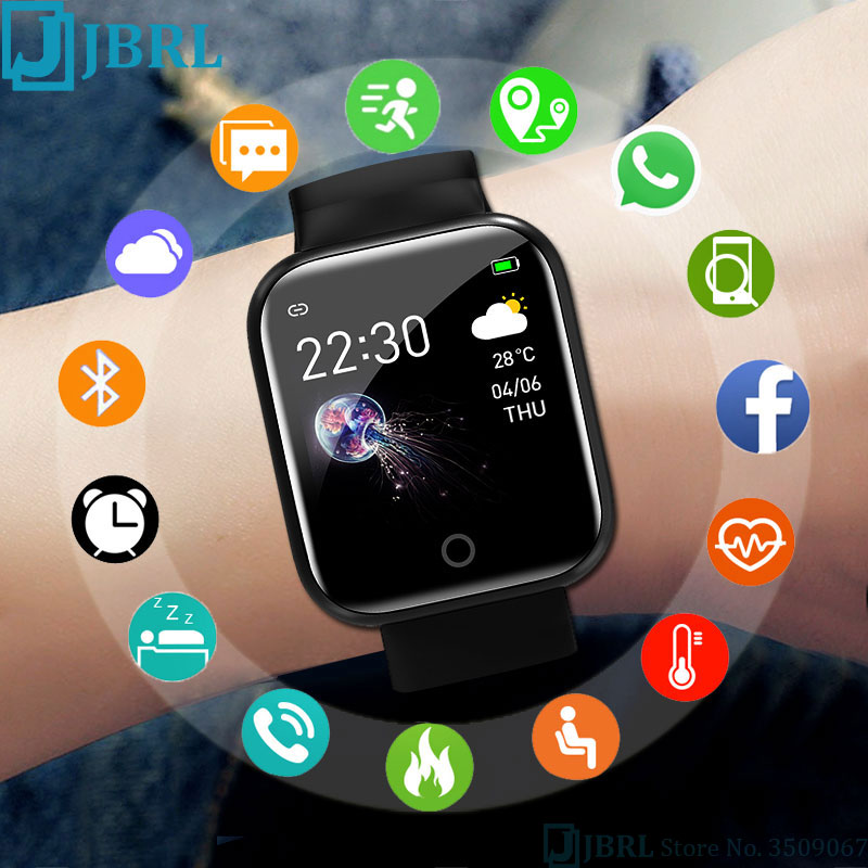 JBRL Brand I5 Sport Watch Children Kids Watches For Girls Boys Wrist Watch Student Clock Electronic LED Digital Child Wristwatch