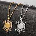 Ожерелье из нержавеющей стали с изображением орла, женская и мужская цепочка унисекс, ожерелья, подарки для детей