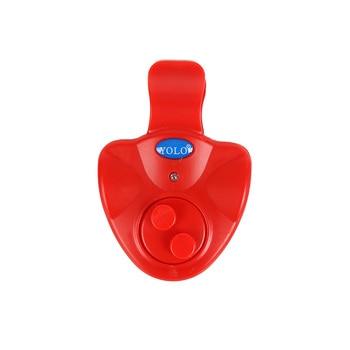 New led light fishing alarms portable carp bite alarm fishing line gear alert indicator buffer fishing rod loud alarm supplies