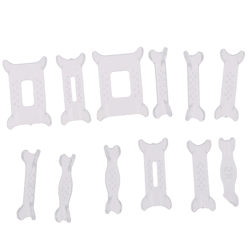 New 12Pcs/Set Invisible Ring Size Adjuster For Loose Ring Size Reducer Spacer Ring Guard
