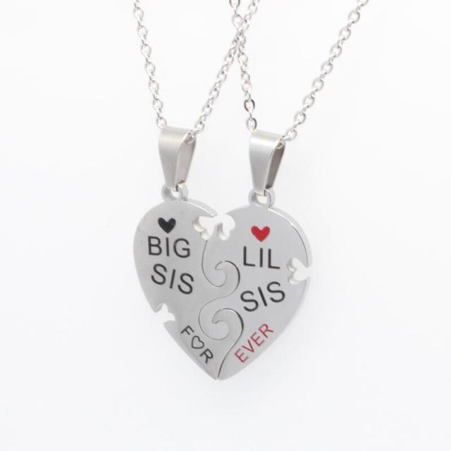 Фото ожерелье женское с подвеской в виде сердца цена
