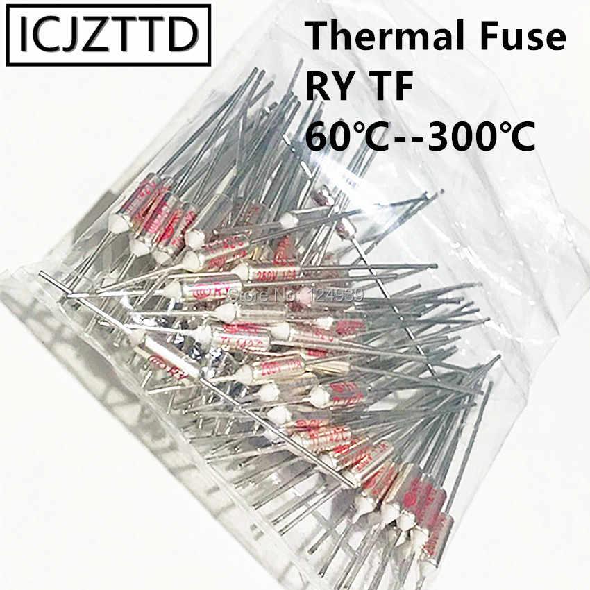 โลหะฟิวส์ CCC RY 250V 10A 15A TF 216 องศาเซลเซียสอุณหภูมิ TF ฟิวส์ความร้อน RY 216C ไฟฟ้าข้าวหม้อหุงข้าวไมโครเวฟ
