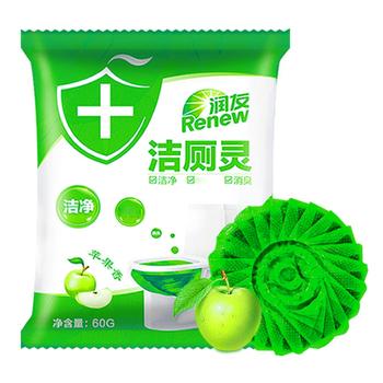 Zapach jabłko zapach środek czyszczący do wc toaleta zielona bańka akcesoria do czyszczenia gospodarstwa domowego tanie i dobre opinie 1 pc Żel Inne