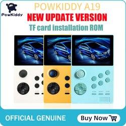 POWKIDDY A19 caja de Pandora Android Supremo consola de juegos portátil IPS pantalla integrada 3000 + juegos 30 3D juegos WiFi descargar