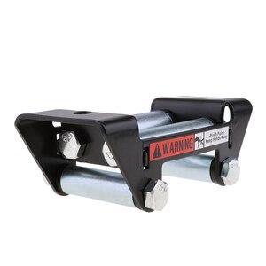 Image 1 - ATV UTV Winch Wire Rope Roller Fairlead Cable Lead Guide for ATV/UTV Winches 3500 lb Wire Fairleads Winch Accessories