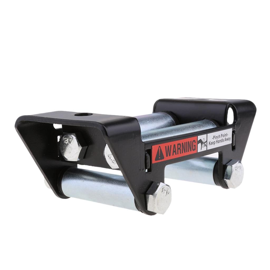 Winch Wire Rope Roller Fairlead Cable Lead Guide For 3500-lb ATV/UTV Winches