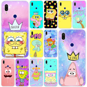 Hot Sponge Bob Best Friends Silicone Case for Xiaomi Redmi K20 Pro 8 8A 7 7A 6 6A 5 Plus S2 Note 8 7 6 5 Pro 4 4X Fashion Cover(China)