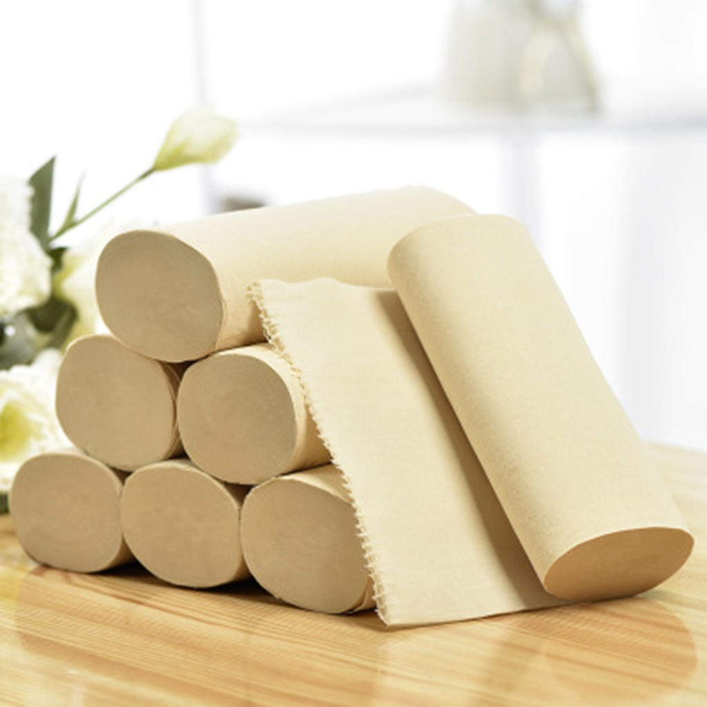 12pcs Roll Paper Tissue Paper Roll 4 Layer Thickened Household Coreless Paper Clean Prevent Flu Cleaning Toilet Tissue New Arri3