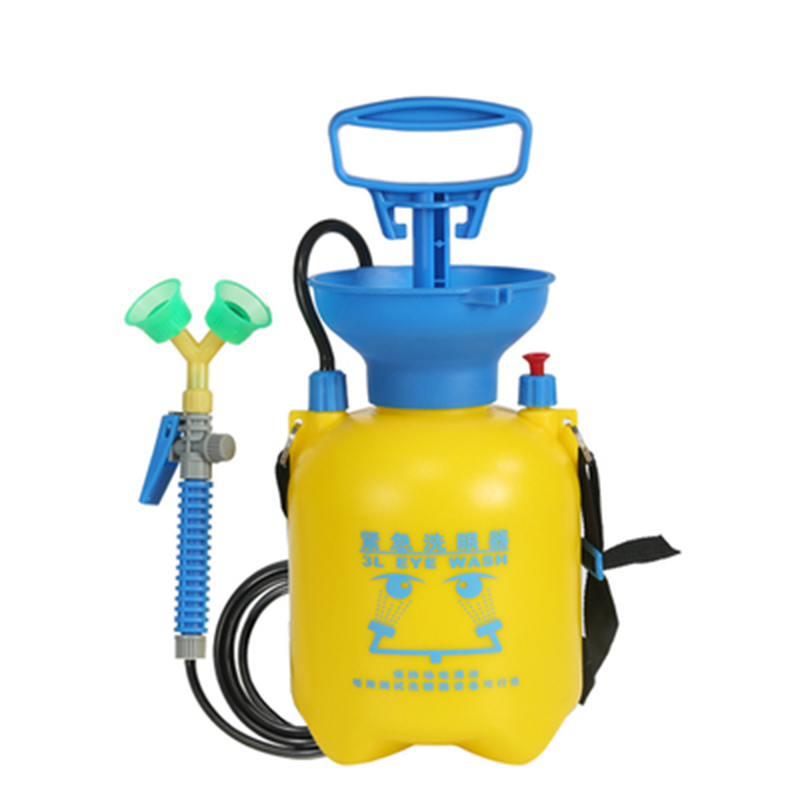 3L Emergency Eye Wash Portable Removable Emergency Shower Manual Device Spray Irrigator First Aid Eye Wash