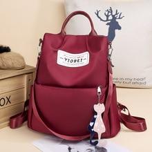 Multifunction Women Backpack High Quality Oxford Backpacks for Teenage Girls Female School Shoulder Travel Bag Bagpack Mochila