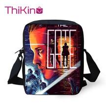 Thikin Stranger Things Shoulder Bags for Boys Messenger Bag Crossbody Phone Girls Shopping School