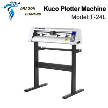 Original Vinyl  Cutting Cutter Plotters Machine Teneth KUCO 110V/220V T-24LVinyl Plotter 60cm Pattern Plotter