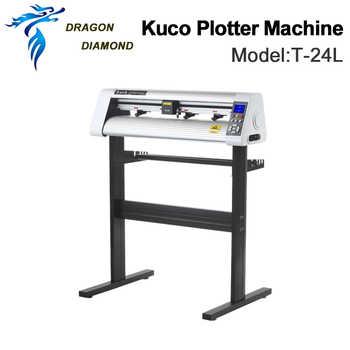Original Vinyl Cutting Cutter Plotters Machine Teneth KUCO 110V/220V T-24LVinyl Plotter 60cm Pattern Plotter - DISCOUNT ITEM  5% OFF Tools