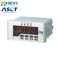 Einphasig COS meter 48*96mm LED display digital power factor meter