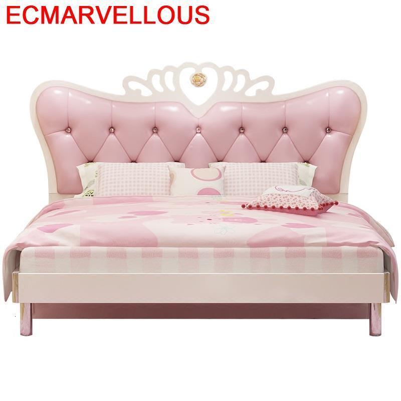 Mebles Chambre Lit Enfant Bois Cocuk Yataklari Toddler Bedroom Furniture Muebles De Dormitorio Cama Infantil Wooden Kids Bed